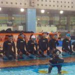 プール訓練